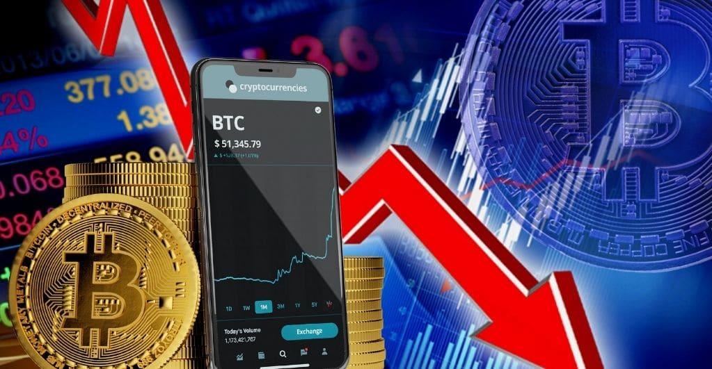 Bitcoin Preis Gesichter Korrektur über die letzte Woche