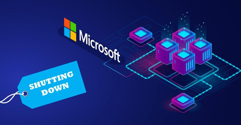 Microsoft fährt seinen Azure Blockchain Service herunter