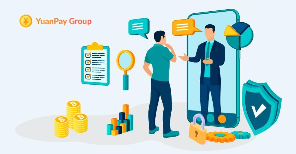 YuanPay Gruppe empfiehlt, sicher in Crypto Assets zu investieren