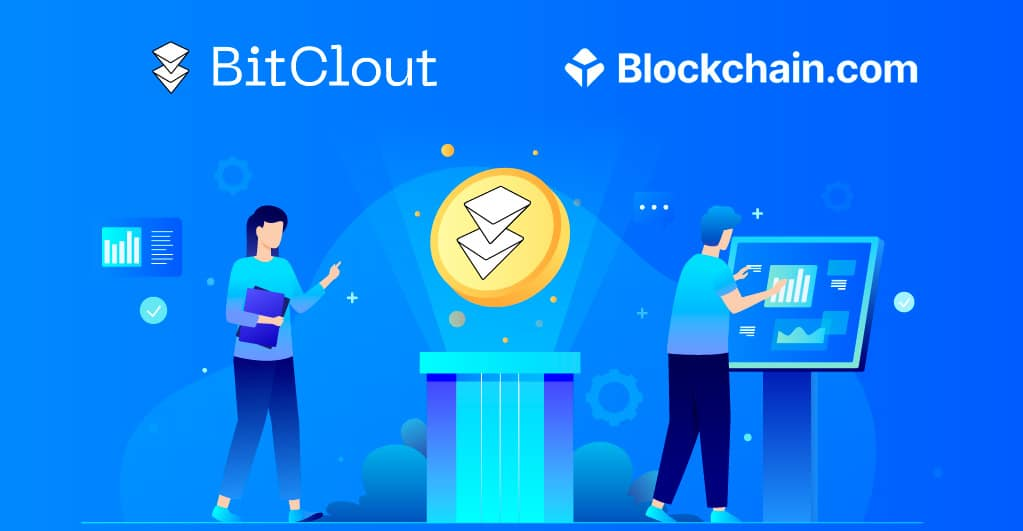 Blockchain.com listet ausschließlich $CLOUT für den Handel auf