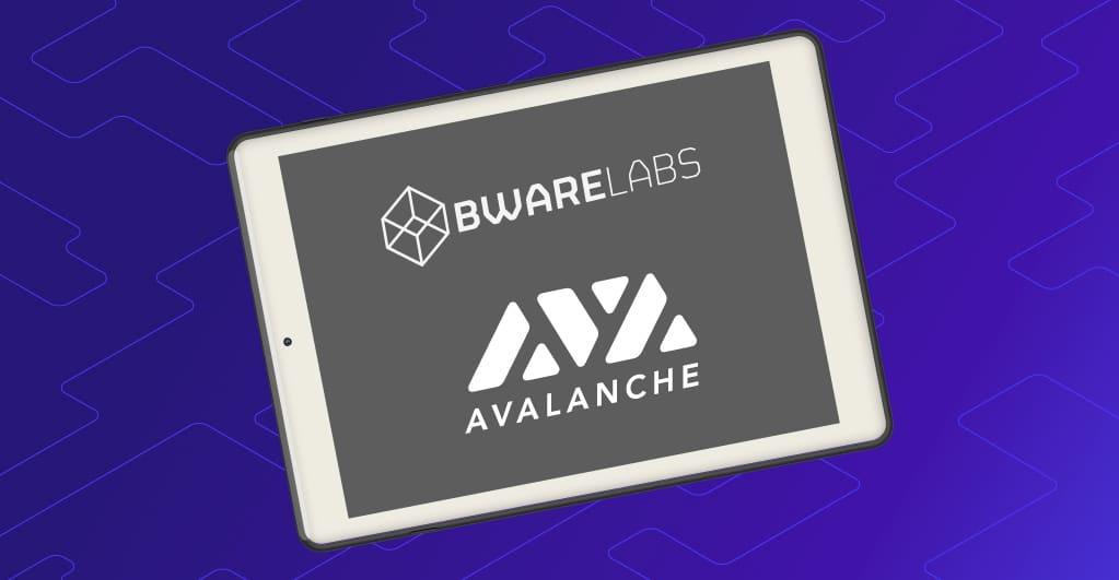 Bware Labs veröffentlicht dezentrale Blockchain API MVP auf Avalanche