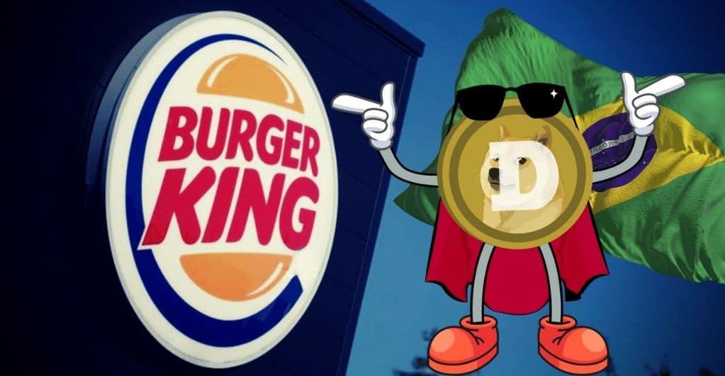 Burger King akzeptiert Dogecoin in Brasilien