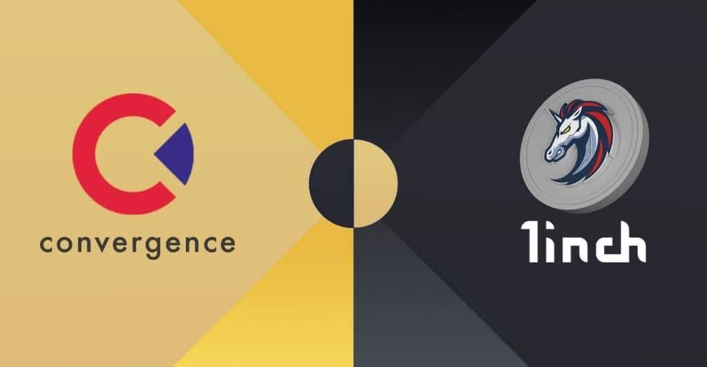 Convergence Finance arbeitet mit dem 1inch Network zusammen