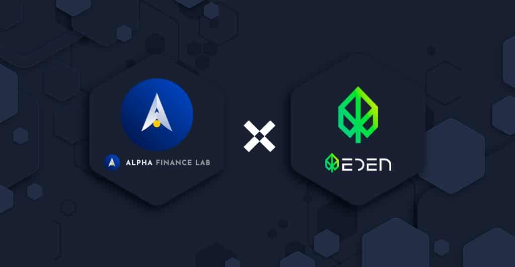 Alpha Finance Lab kollaboriert mit Eden Network als Launch-Partner